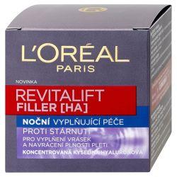 Loréal Paris Revitalift Filler [HA] noční krém proti vráskám 50 ml