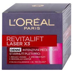 Loréal Paris Revitalift Laser X3 denní intenzivní péče proti vráskám 50 ml