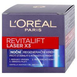 Loréal Paris Revitalift Laser X3 noční regenerační krém proti vráskám 50 ml