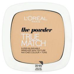 Loréal Paris True Match Golden Sand W5 kompaktní pudr 9 g
