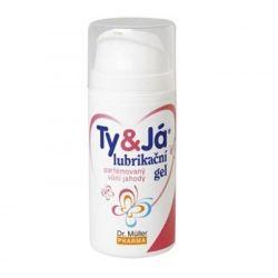 Ty&já Lubrikační gel parfémovaný jahoda 100 ml