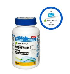 Swiss NatureVia Magnesium 1 420 mg 90 tablet