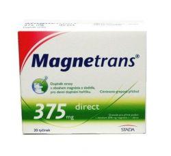 Magnetrans 375 mg 20 tyčinek granulátu