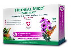 Dr. Weiss HerbalMed Echinacea + rakytník + vitamin C 12 pastilek