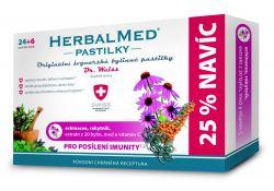 Dr. Weiss HerbalMed Echinacea + rakytník + vitamin C 24+6 pastilek