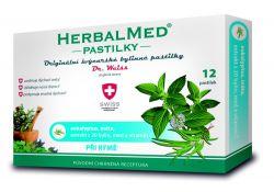 Dr. Weiss HerbalMed Eukalyptus + máta + vitamin C 12 pastilek