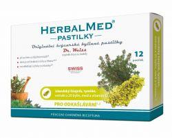 Dr. Weiss HerbalMed Islandský lišejník + tymián + med + vitamin C 12 pastilek