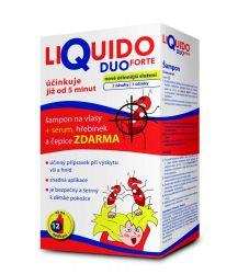 Liquido DUO FORTE šampon na vši + sérum 200 ml