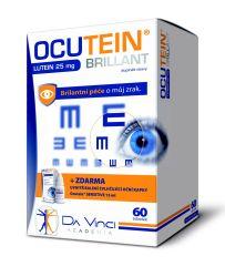 Ocutein Brillant Lutein 25 mg 60 tobolek + kapky