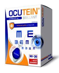 Ocutein Brillant Lutein 25 mg 90+30 tobolek + dárek
