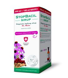 Dr. Weiss STOPBACIL sirup 200+100 ml