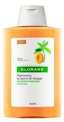 KLORANE Šampon s mangovým máslem na suché a poškozené vlasy 400ml