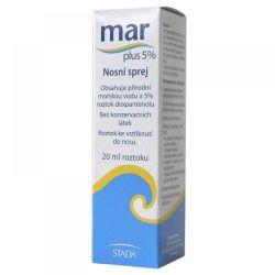 Mar plus 5% nosní sprej 20 ml
