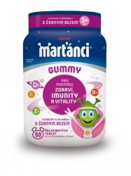 Marťánci Gummy Černý bez 50 ks