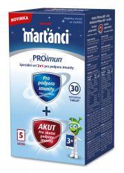 Marťánci PROimun 30 cucacích tablet + Akut 5 sáčků