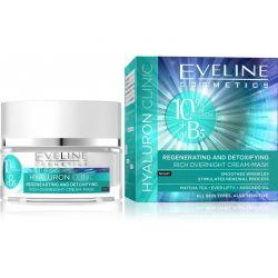 Eveline Hyaluron Clinic regenerační noční krém 50 ml