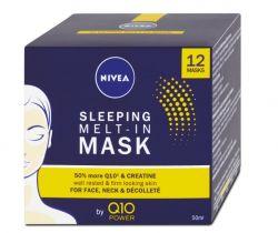 Nivea Q10 Power noční maska 50 ml