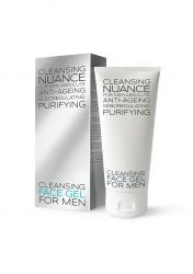 Nuance For Men Cleansing Face Gel čisticí gel na obličej 100 ml