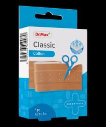 Dr.Max Classic Cotton 6cm x 1m náplast