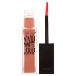 Maybelline Color Sensational Vivid Matte Liquid odstín 50 Nude Thrill 8 ml