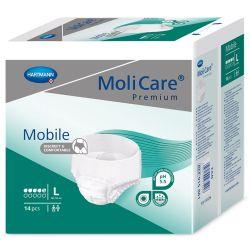 MoliCare Mobile 5 kapek vel. L inkontinenční kalhotky 14 ks