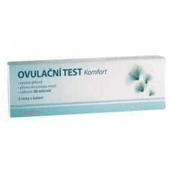 Medpharma Ovulační test Komfort 20mlU/ml 2 ks