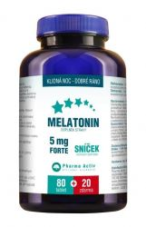 Pharma Activ Melatonin 5mg FORTE 80+20 tablet ZDARMA