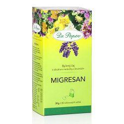 Dr. Popov Migresan porcovaný čaj 20x1,5 g