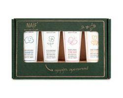 NAIF Kosmetika pro děti a miminka set miniatur 4x15 ml