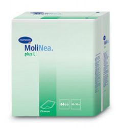 Molinea Plus 90 x 180 cm zahnutý okraj inkontinenční podložky 20 ks