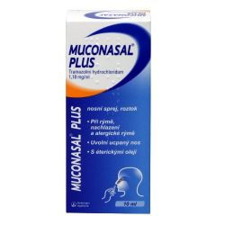 Muconasal Plus nosní sprej 10 ml