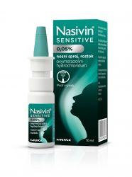 Nasivin Sensitive 0,05% pro dospělé a děti od 6 let nosní sprej 10 ml