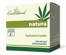 Cannaderm Natura Hydratační mýdlo pH 5.5 100 g