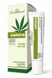 Cannaderm Natura Krém na oči 15 ml