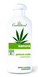 Cannaderm Natura Pleťová voda s alkoholem pro mastnou pleť 200 ml