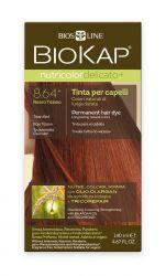 BIOKAP Nutricolor Delicato+ 8.64 Tiziánová červená barva na vlasy 140 ml
