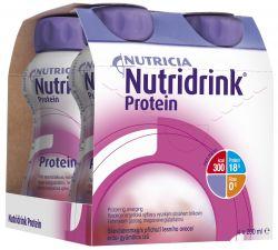 Nutridrink Protein lesní ovoce 4x200 ml