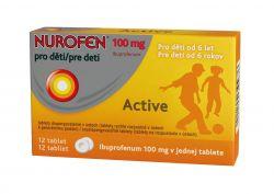 Nurofen 100 mg pro děti Active 12 tablet