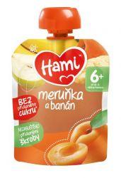 Hami Ovocná kapsička meruňka a banán 6x90 g