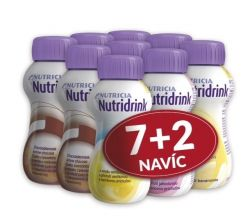 Nutridrink 200ml akční balíček 7+2 ks