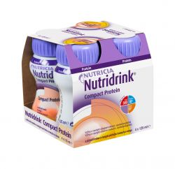 Nutridrink Compact Protein broskev a mango 4x125 ml