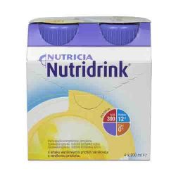 Nutridrink vanilka 4x200 ml