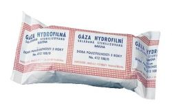 Hartmann Gáza hydrofilní skládaná sterilizovaná 9 x 5 cm 10 ks