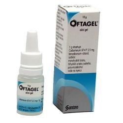 Oftagel oční gel 10 g