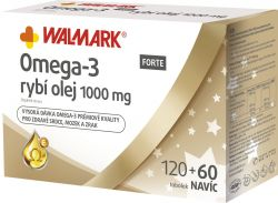 Walmark Omega 3 Forte 120+60 tobolek Vánoce 2018