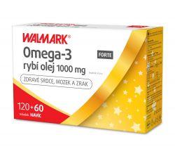 Walmark Omega-3 rybí olej FORTE 1000 mg 120+60 tobolek