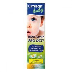 Omisan Baby oční kapky pro děti 50 ml