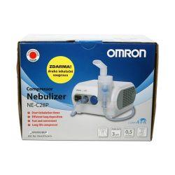 Omron C28P kompresorový inhalátor + druhá inhalační souprava ZDARMA