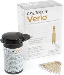 Testovací proužky OneTouch Verio 50 ks