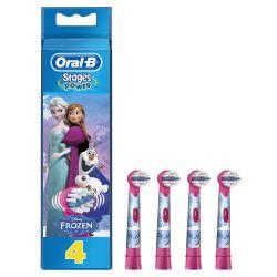 Oral-B EB 10-4 Frozen náhradní nástavec 4 ks